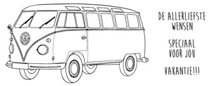 Happy Travels - VW-bus Vakantie! - 190093