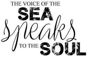 The voice of the SEA speaks to the SOUL - 20010