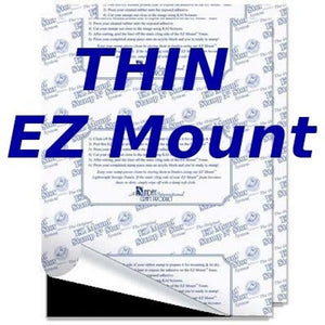 EZ Mount - 1/4 sheet - Thin - 20110-4EZthin