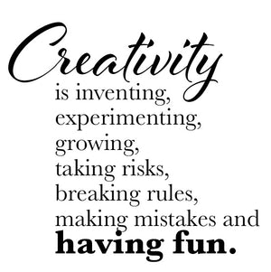 Creativity is inventing, ... and having fun - 21042