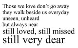Those we love don't go away... - 21052