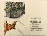 Millions of trees... squirrels - 21041