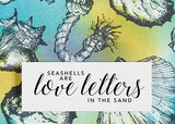 Seashells are love letters in the sand - 20006