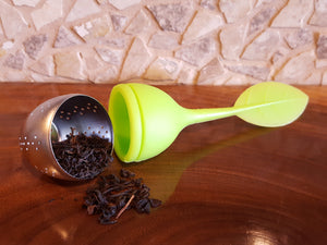 Silicone Leaf Tea Infuser - Cedar Lake Teas
