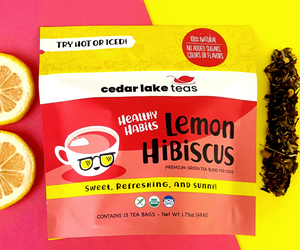 Healthy Habits Lemon Hibiscus Kids Tea - Cedar Lake Teas
