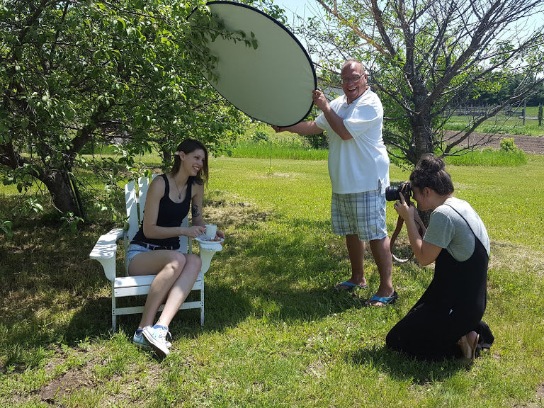 cedar lake teas photoshoot picture