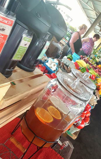 cedar lake teas farmers market iced tea picture