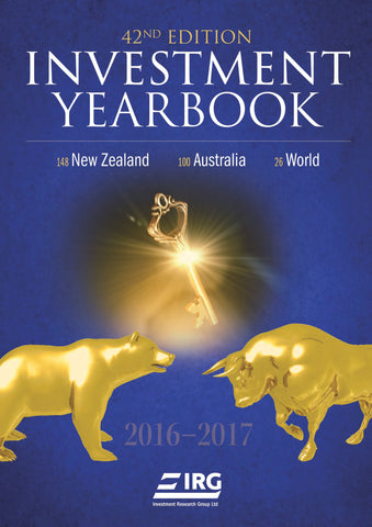 NEW!! 42nd Edition IRG Investment Yearbook