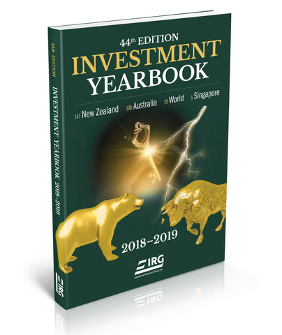 44th Edition IRG Investment Yearbook 2018-2019 ( 50% off Special)