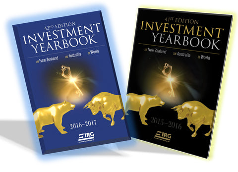 2x IRG Investment Yearbook (42nd and 41st) Combo