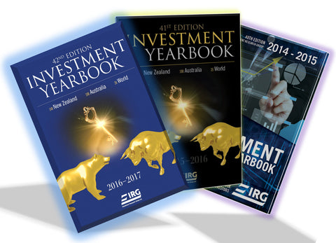 3x IRG Investment Yearbook (42nd, 41st and 40th) Combo