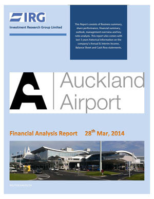2016: Auckland International Airport Limited