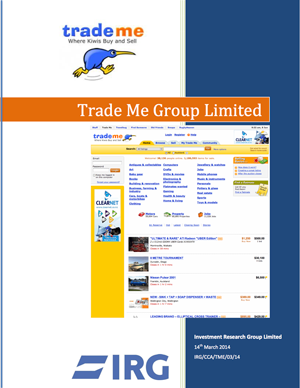 2014: Trade Me Group Limited