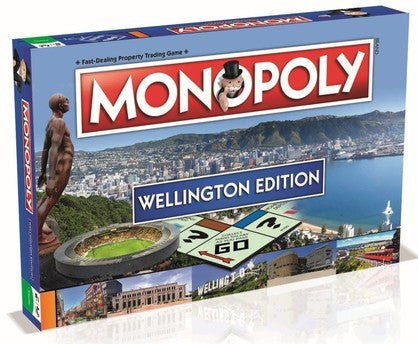 Wellington Monopoly Board Game - (FATHER'S DAY SPECIAL)  FREE SHIPPING