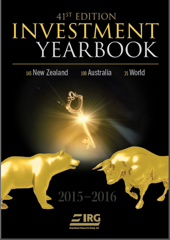 41st Edition IRG Investment Yearbook 2015-2016