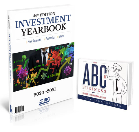 Combo 46th IRG Investment Yearbook 2020-2021 and The ABC of Business