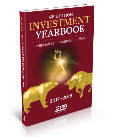 43rd Edition IRG Investment Yearbook 2017-2018