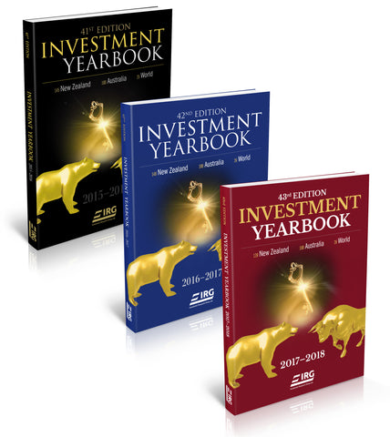 3x IRG Investment Yearbook (43rd, 42nd and 41st) Combo (New YearSpecial Price)