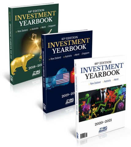 44th, 43rd and 42nd IRG Investment Yearbook Combo (50% off Special)
