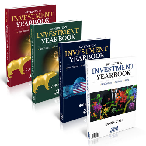 46th, 45th, 44th and 43rd IRG Investment Yearbook Combo (Special)