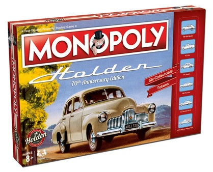 Holden Heritage Monopoly Board Game - FREE SHIPPING (OUT OF STOCK)