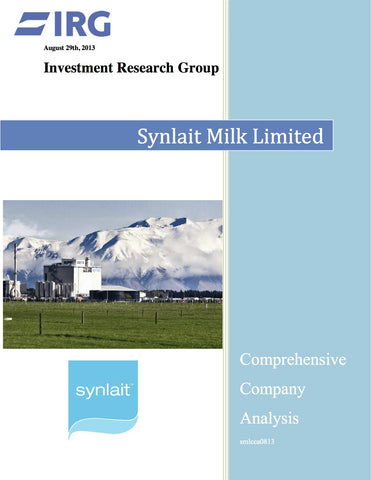 2015: Synlait Milk Limited