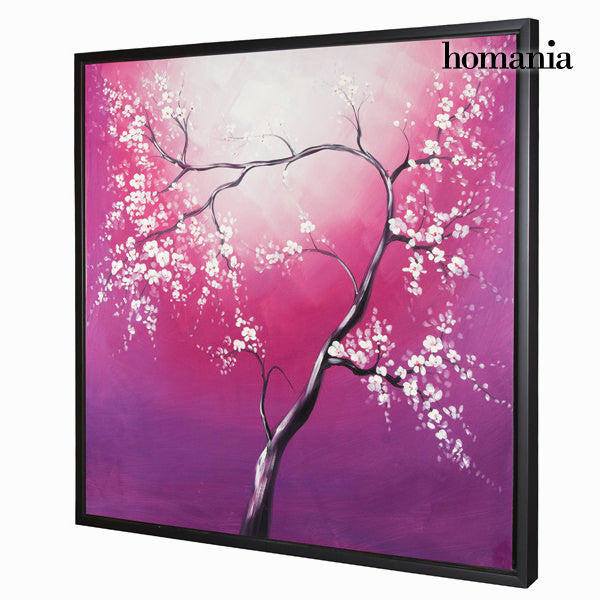 Fuschia tree oil painting by Homania