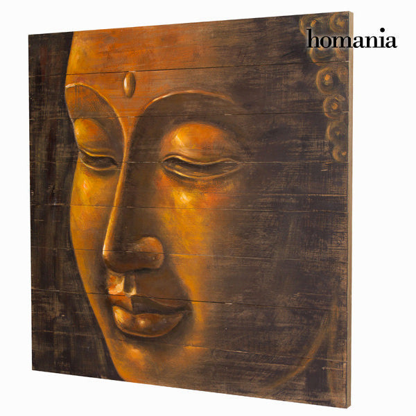 Wooden buddha painting  by Homania
