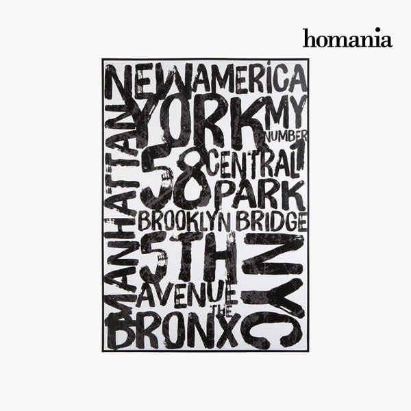 Table  nyc  on canvas by Homania