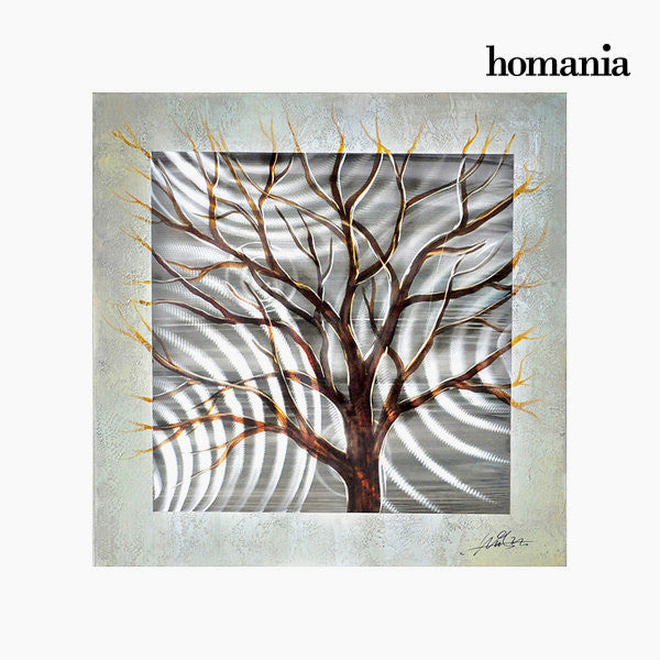 Canvas painting in aluminium by Homania