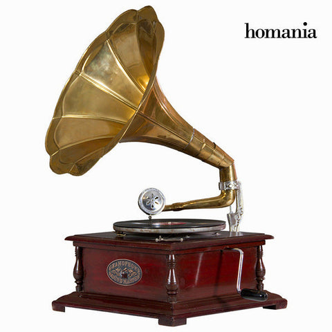 Square gramophone by Homania