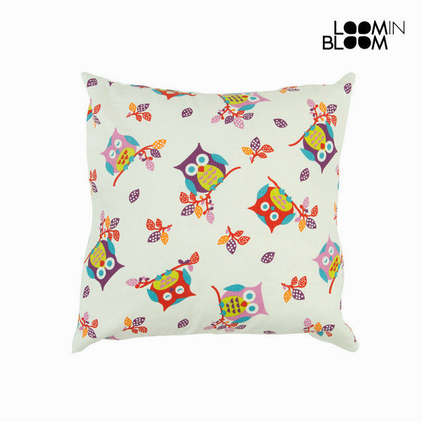 White Owl Cushion by Loomin Bloom