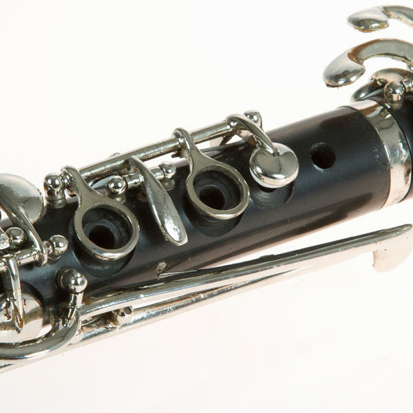 Metal clarinet figure by Homania