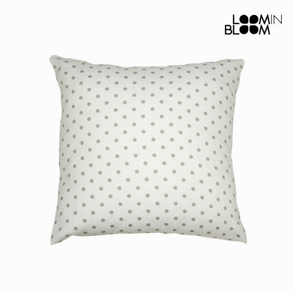 Natural grey polka dot cushion - Little Gala Collection by Loomin Bloom