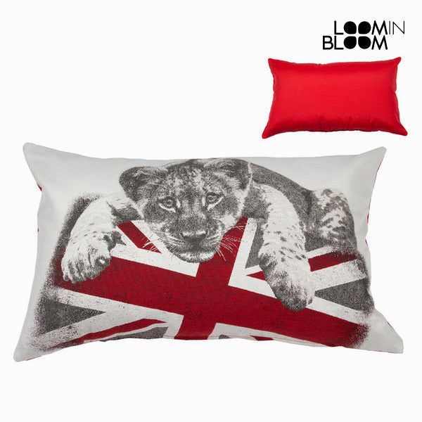 Lion cushion by Loomin Bloom