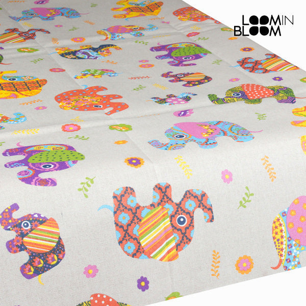 Elephants placemat by Loomin Bloom