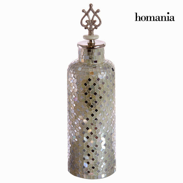 White mosaic jar - Alhambra Collection by Homania