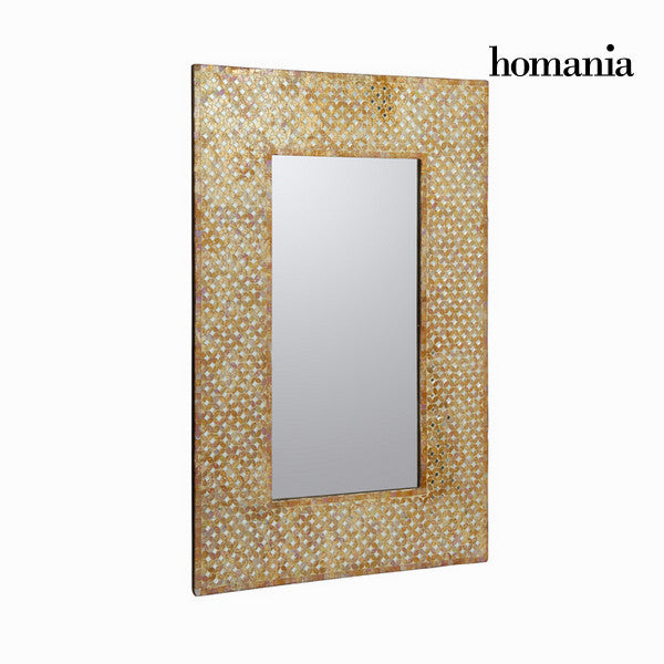 Mirror gold mosaic