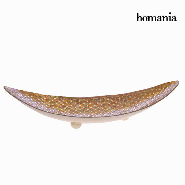 Gold mosaic centrepiece - Alhambra Collection by Homania