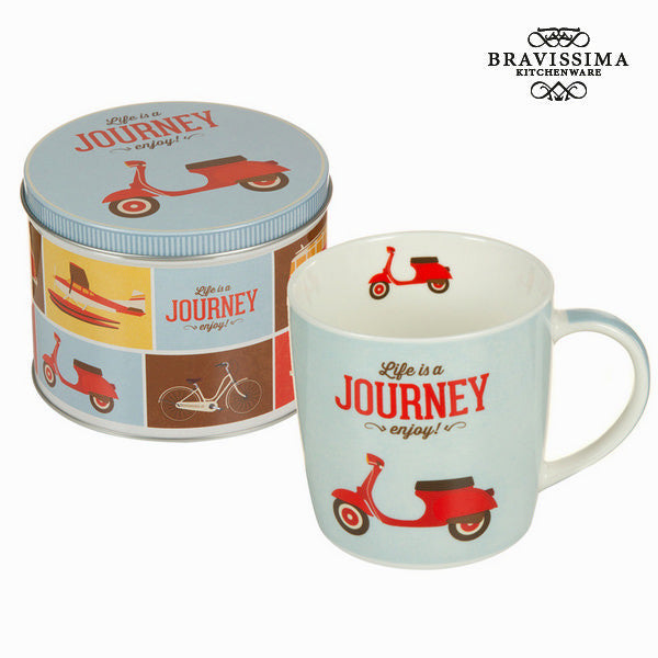 Vespa cup with box - Kitchen's Deco Collection by Bravissima Kitchen