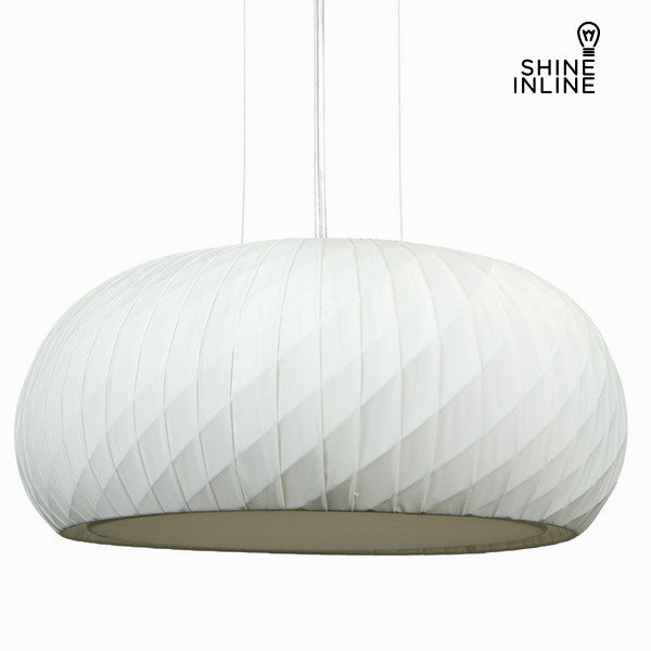 White stof loft lampe by Shine Inline