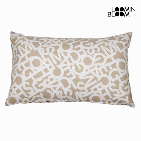Abc beige pude 30x50 cm by Loom In Bloom