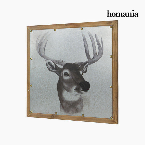 Deer wooden frame by Homania