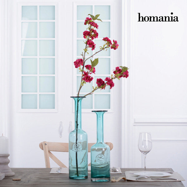 Jarrónde turquoise glass by Homania