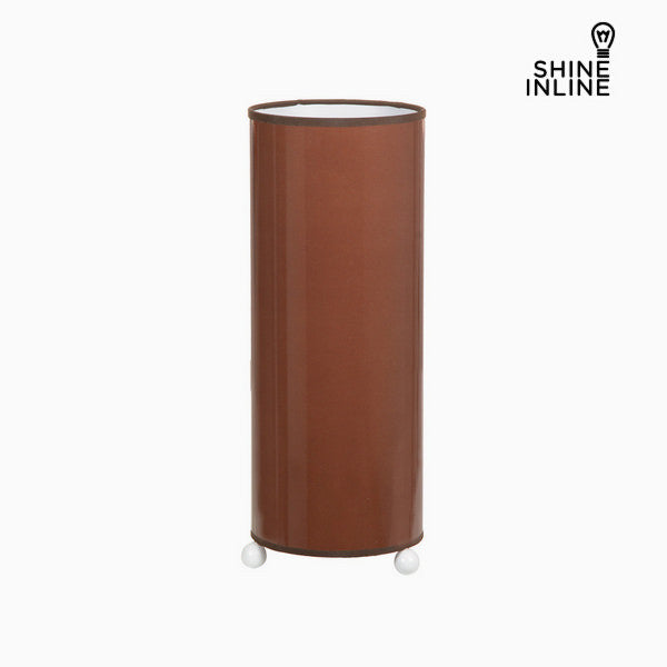 Ceramic brown table lamp by Shine Inline