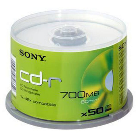 Sony CD REC 700MB/80min/Spindle 50