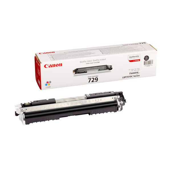 Canon 729 BK Cartridge 1200pages Black