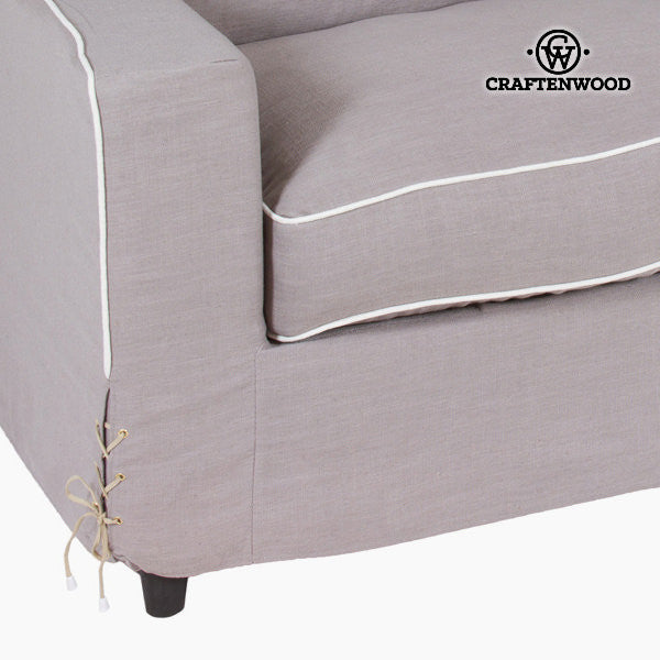 Brown sofa 180x100x60 cm by Craftenwood