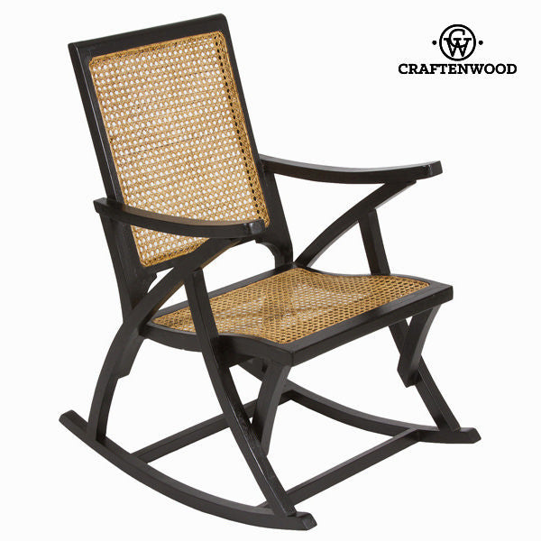 Black rocking chair  by Craften Wood