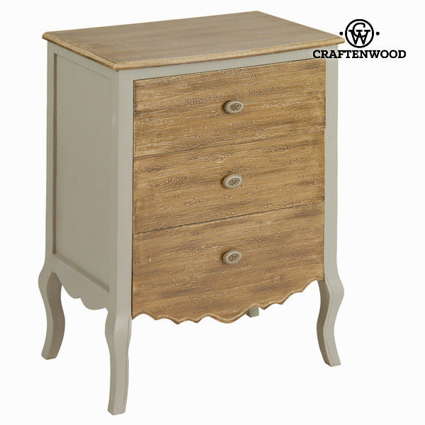 Venezia 3 drawers side table - Let's Deco Collection by Craften Wood